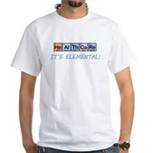 Healthcare: It's Elemental White T-Shirt