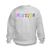 Colorful Retro Liberal Kids Sweatshirt