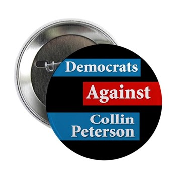 Democrats Against Colin Peterson Button