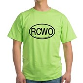 RCWO Red-cockaded Woodpecker Green T-Shirt