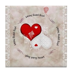 dessous de plat coeur dentelle / Lace heart tile coaster and boxes