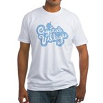 Crystal Village Fitted T-Shirt