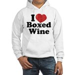 I Heart Boxed Wine Hooded Sweatshirt