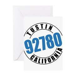 Tustin California 92780 Greeting Card