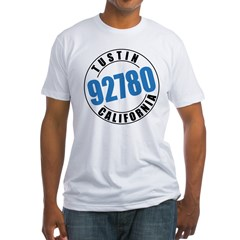 Tustin California 92780 Fitted T-Shirt