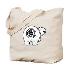 LOST: Dharma Initiative Polar Bear Tote Bag