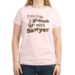 I want to go dutch w/Sawyer Women's Light T-Shirt
