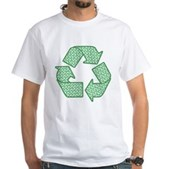 Path to Recycling White T-Shirt