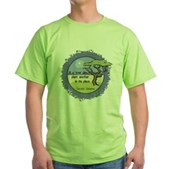 Linnaeus Quote Green T-Shirt