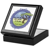 Linnaeus Quote Keepsake Box