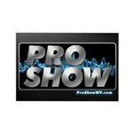 ProShow Logo Rectangle Magnet