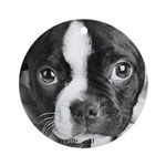 American Gentleman Boston Terrier Ornament