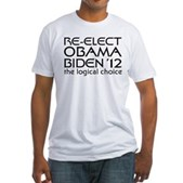 Logical Obama 2012 Fitted T-Shirt