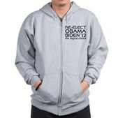Logical Obama 2012 Zip Hoodie