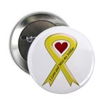 "Yellow Ribbon Love Miss Soldier 2.25"" Button (100"