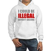 Could Be Illegal - Boycott AZ Hooded Sweatshirt