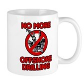 No More Offshore Drilling Mug