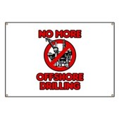 No More Offshore Drilling Banner