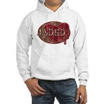 Urban Grunge Jaded Hooded Sweatshirt