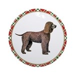 Irish Water Spaniel Ornament