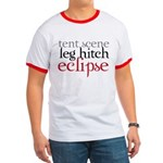 Tent Scene, Leg Hitch, Eclipse Ringer T