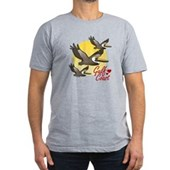 Gulf Coast Pelicans Men's Fitted T-Shirt (dark)