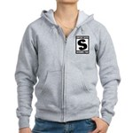 Content Rated S: Scrubs Fan Women's Zip Hoodie