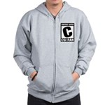 Content Rated C: CSI Fan Zip Hoodie