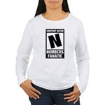 Content Rated N: Numb3rs Fan Women's Long Sleeve T-Shirt