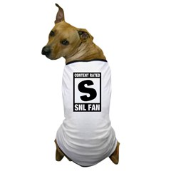 Content Rated S: SNL Fan Dog T-Shirt