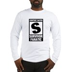 Content Rated S: Survivor Fanatic Long Sleeve T-Shirt