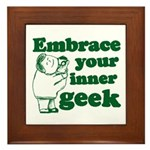 Embrace Your Inner Geek Framed Tile