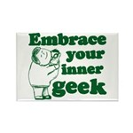 Embrace Your Inner Geek Rectangle Magnet