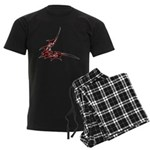 Vampire Bat 1 Men's Dark Pajamas