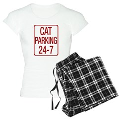 Cat Parking Women's Light Pajamas
