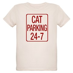 Cat Parking Organic Kids T-Shirt