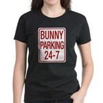 Bunny Parking Women's Dark T-Shirt