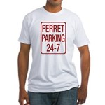 Ferret Parking Fitted T-Shirt