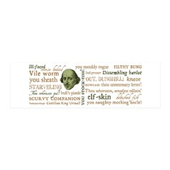 Shakespeare Insults T-shirts & Gifts 36x11 Wall Decal