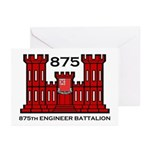 875th Engineer Battalion - Army Greeting Cards (Pa