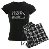 Logical Obama 2012 Women's Dark Pajamas