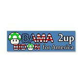 2up for America Car Magnet 10 x 3