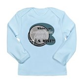 Where's My Quarter? Long Sleeve Infant T-Shirt