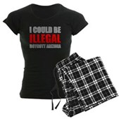 Could Be Illegal Anti-AZ Women's Dark Pajamas