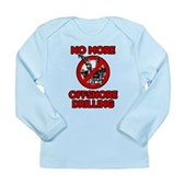 No More Offshore Drilling Long Sleeve Infant T-Shi