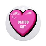 Calico Cat Lover Ornament