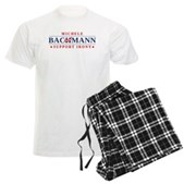 Anti-Bachmann Irony Men's Light Pajamas