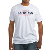 Funny Bachmann Toothpaste Fitted T-Shirt