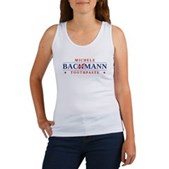 Funny Bachmann Toothpaste Women's Tank Top