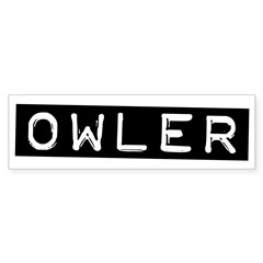 Owler Label Sticker (Bumper)